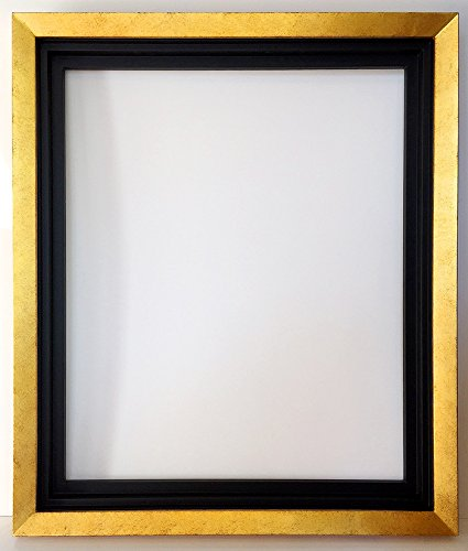 Amazon.com - Gold Floater Frame Solid Wood for 20x24 Canvas -