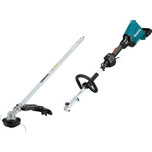 Makita XUX01ZM5 18V X2 36V LXT Lithium-Ion Brushless Cordless Couple Shaft Power Head with String Trimmer Attachment, Tool Only