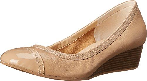 Cole Haan Women's Elsie Cap Toe Wedge II Maple Sugar/Patent Wedge 8.5 B (M)