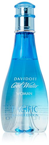Water Summer Spray Cool (Zino Davidoff Cool Water Pacific for Women Summer Edition Eau de Toilette Spray, 3.4 Ounce)