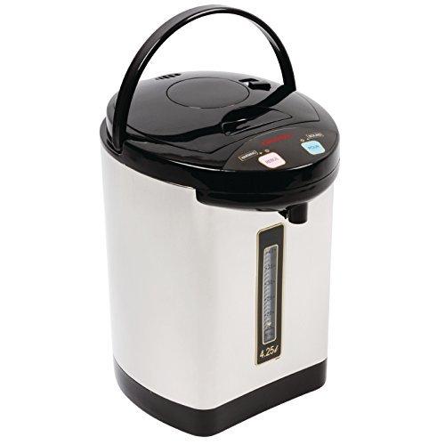 caterlite K711Elektrische Pumpkanne Teekanne-Ei, 355mm x 235mm x 237mm, 4,25l