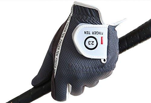Finger-Ten-Mens-RainGrip-Hot-Wet-Weather-Comfort-Color-Extra-Value-Left-Hand-Golf-Gloves