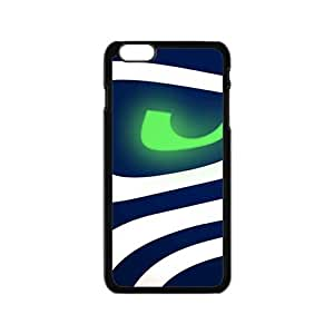 LINGH Black And Blue Cell Phone Case for iphone 6 plusd 5.5