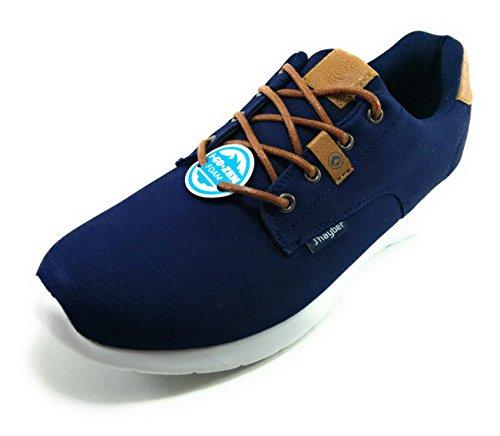 J´Hayber Chasido Navy - Zapato Sport de Cordones con Plantilla Foam