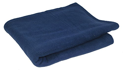 world 39 s best cozy soft microfleece travel blanket 50 x 60 inch navy great for travel or. Black Bedroom Furniture Sets. Home Design Ideas