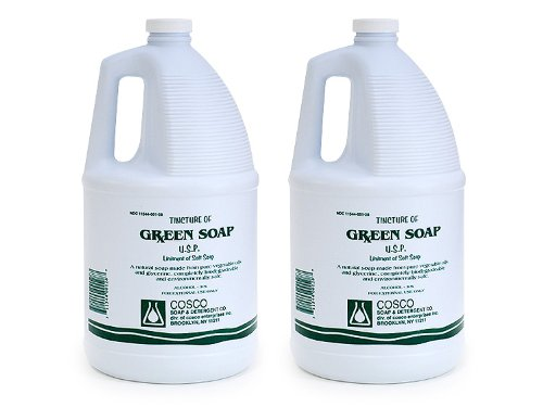 Cosco Green Soap Gallons 6/case by Cosco green soap
