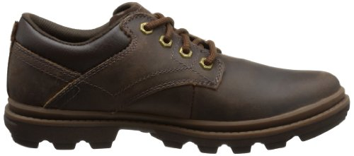 Cat Footwear MAXWELL - Derby de cuero hombre marrón - Braun (MENS DARK BROWN)
