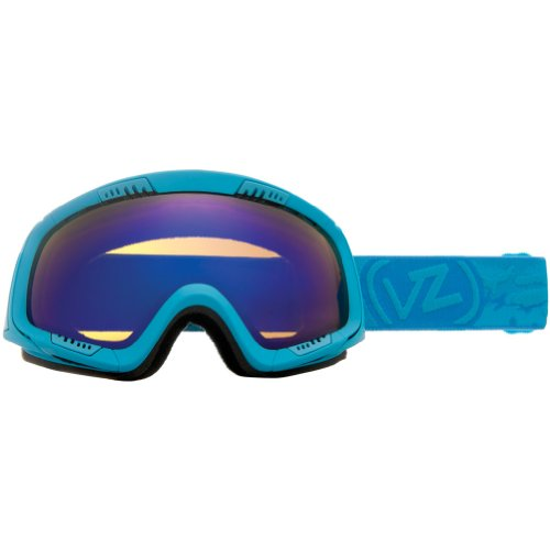 VonZipper Feenom Adult Winter Sport Snowmobile Goggles Eyewear - Blue Satin/Astro Chrome / One Size Fits All