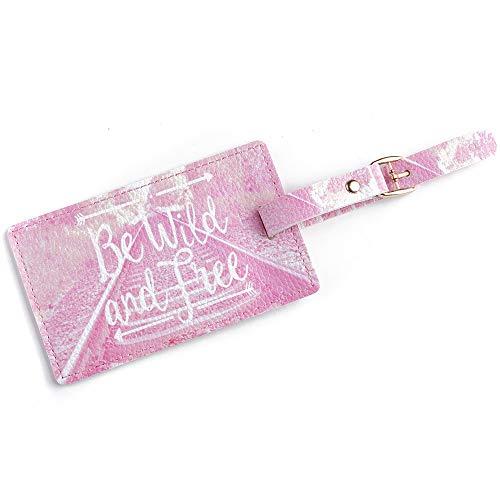 Hot Sale!DEESEE(TM)Fashion Cute Air Plane Pattern Travel Luggage Bag Tags Handbag ID Tag Name Card (E) ()