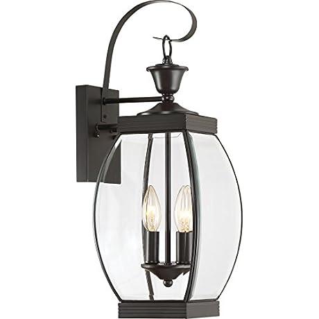 Quoizel OAS8408Z 2 Light Oasis Outdoor Lantern In Medici Bronze