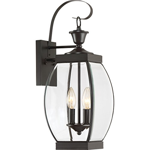 Cheap Quoizel OAS8408Z 2-Light Oasis Outdoor Lantern in Medici Bronze