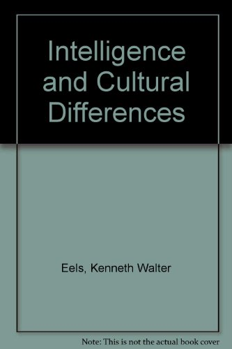 Intelligence and Cultural Differences