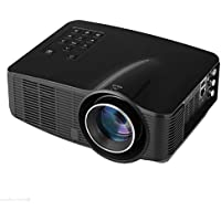 Multimedia Projector - TOOGOO(R)Mini Home Cinema Theater Multimedia 3D Wifi Android LED LCD Projector USB SD AV