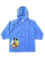 REQUETEGUAY Mickey Mouse regenjas voor kinderen, waterdicht, Mickey Mouse Disney-jas met capuchon en knopen
