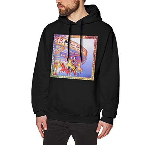 Zblin Mens Hoodie Sweatshirt The Adicts Sound of Music New Classic Style Black