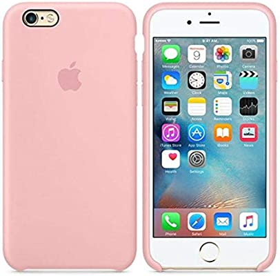 Desconocido Funda para iPhone 7/8, Silicona Rosa Pastel Logo Apple Carcasa iPhone (iPhone 7/8)