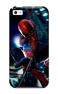 Fashion Tpu Case For Iphone 5c- The Amazing Spider-man 63 Defender Case Cover