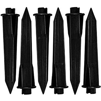 Malibu Path Light Replacement Plastic Stakes 6 Pack
