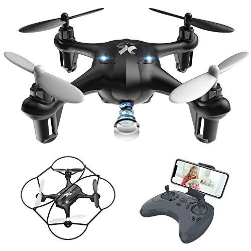 ATOYX AT-96 FPV Mini Drone with HD Wi-Fi Camera App Control Live Transmission Automatic Altitude Posture Headless Mode…