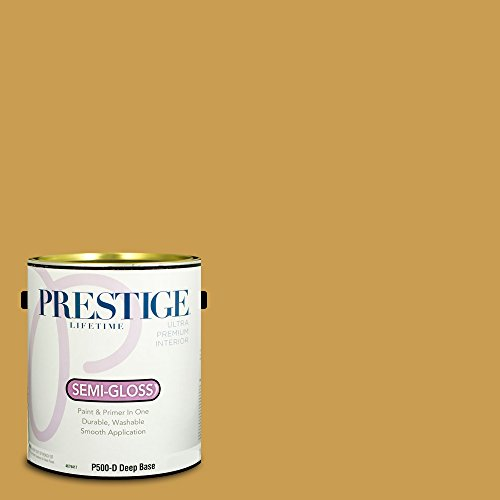 Prestige Paints P500-D-SW6395 Interior Paint and Primer in One, 1-Gallon, Semi-Gloss, Comparable Match of Sherwin Williams Alchemy, 1 Gallon,
