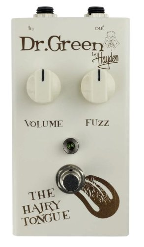 Hayden Dr. Green Gitarren-Effektgerät, FX, Motiv Hairy Tongue