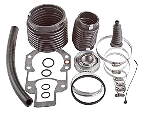 Transom Repair Kit Replacement For 30-803099T1 Fit for MerCruiser Alpha 1 Gen 2 Bellows Kit with Shift Cable and Oil Seal
