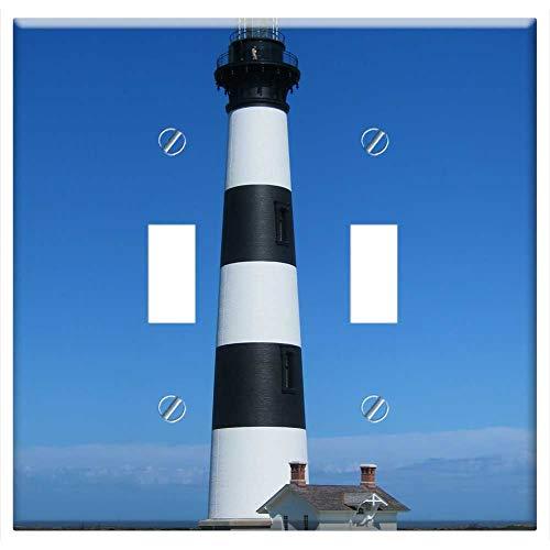 (Switch Plate Double Toggle - Lighthouse Bodie Island North Carolina Tourism)