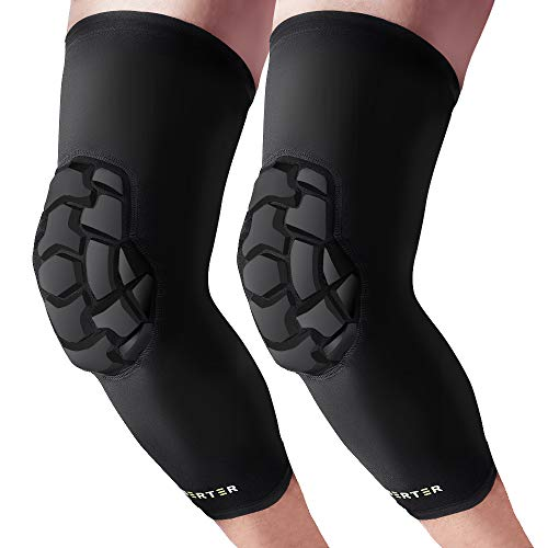 BERTER Knee Brace - Anti-Collision Knee Compression Sleeves Support - Men Women Knee Pads for Basketball, Volleyball, Running, Working Out (S)