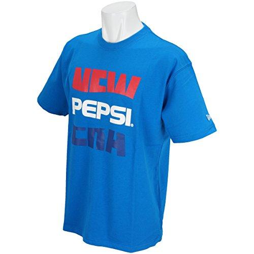 (ニューエラ) NEW ERA ペプシ コラボ Tシャツ ビッグNE ロイヤル PEPSI M