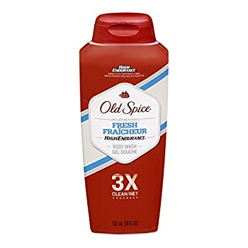Old Spice High Endurance Body Wash, Fresh, 18 fl oz (532 ml), (Pack of 6)