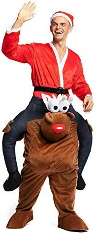 YOU LOOK UGLY TODAY Disfraz de Papá Noel con Texto en inglés ...