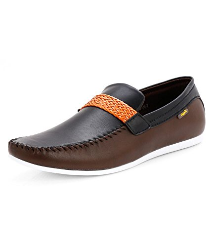 b75d01f5f8 Froskie Men's Designer Formal & Casual Black, Navy & Wine Loafer ...