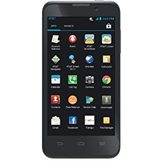 AT&T Z998 LTE Android Go Phone - With Bluetooth (AT&T)