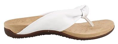 VIONIC Zehensteg Sandale Pippa White Gr. 36-42 - 1001125, Größe + Weite:37 Normal