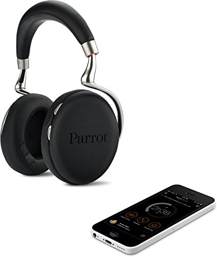 Parrot Zik 2.0 Wireless Noise Cancelling Headphones (Black)