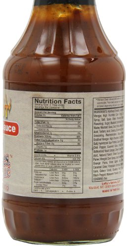 Buy lefty's bbq sauce hot lefty's spices bbq sauce hot