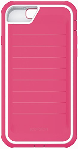 Body Glove Protector (Body Glove Case for iPhone 7 & 6/6s, ShockSuit Raspberry/White)