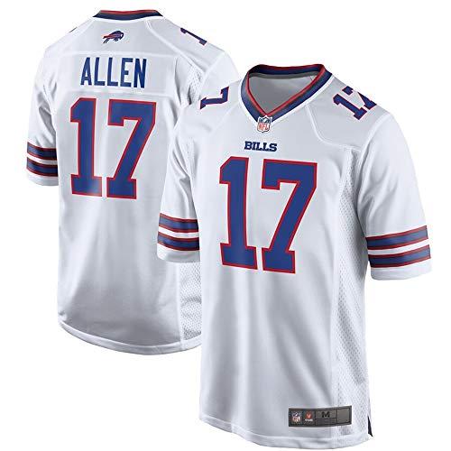 # 17 Josh Allen Buffalo Bills Game Jersey - White M Buffalo Bills Football Jersey