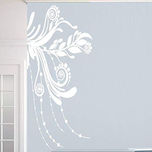 Lplpol Corner Flourish Vinyl Wall Decal Home Decor