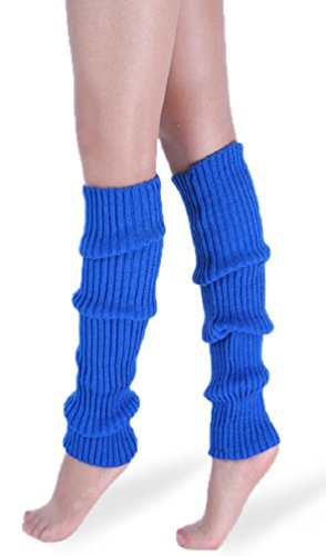 *daisysboutique* Retro Unisex Adult Junior Ribbed Knitted Leg Warmers (One Size, ()