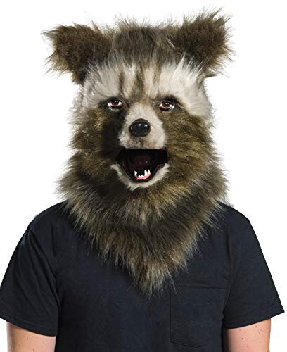 (Rubie's Costume Co Men's Guardians of The Galaxy Rocket Raccoon Costume, As Shown, Faux Fur)