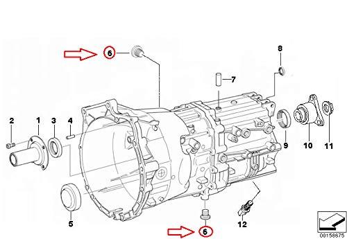 GTV 23117531356 Lot de 2 bouchons de vidange manuels E46