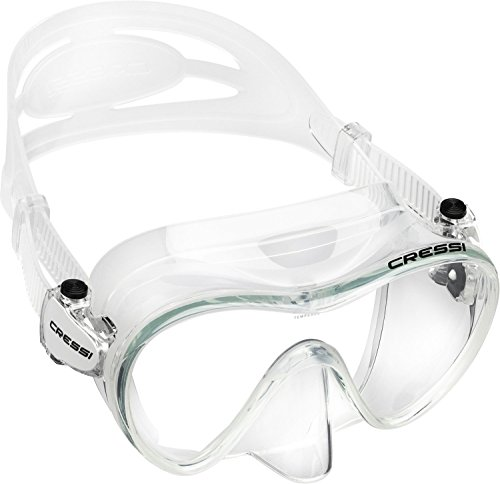 - Cressi F1 Frameless Mask, Clear
