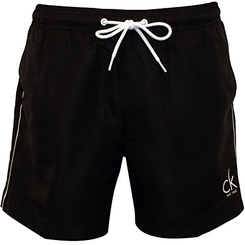 Calvin Klein CK NYC Classic Men's Swim Shorts, Black Large by Calvin Klein