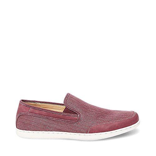 Steve Madden Mens Luthur Fashion Sneaker Tessuto Rosso