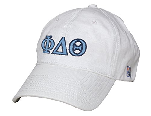 Phi Delta Theta Greek Letter Adjustable Hat by The Game