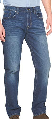 - Banana Republic Men's Straight-Fit Stretch Medium-Wash Jean (35/32)