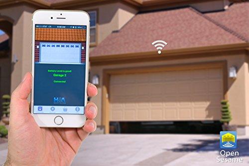 Open Sesame Hnaos01 Smartphone Door Opener Remote Control