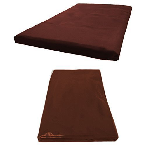 Futon Mattress COVER ONLY, Double 2 Seater in Wine. Available in 11 Colours Matching Bedroom Sets