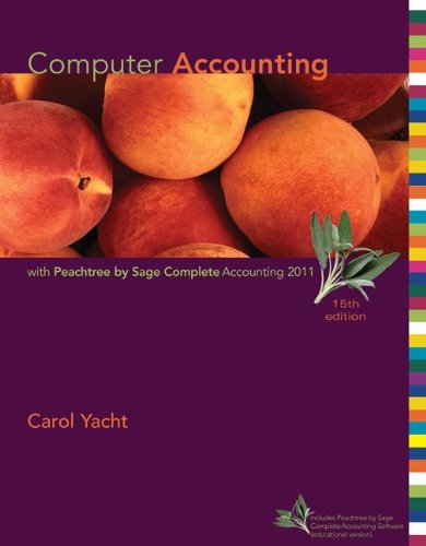 Computer Accounting with Peachtree by Sage Complete...